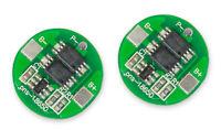 2Stück 2A PCB bms Lipo Lion 1S Akku Schutzmodul für z.B 18650, Lipos DIY