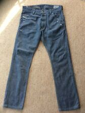 DIESEL INDUSTRY KROOLEY GREY REGULAR SLIM CARROT JEANS 30W X 32L