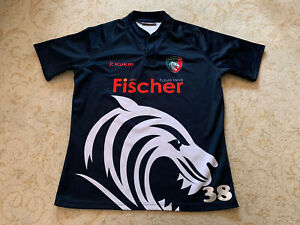 Leicester Tigers Rugby Player Issue Training Shirt Size   XL