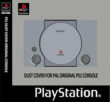 PLAYSTATION 1 (PS1) ORIGINAL CONSOLE DUST COVER/PROTECTOR.CUSTOM/NEW.