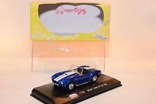/ POTATO CAR SHELBY COBRA 427 S/C 1965 METALLIC BLUE MINT BOXED