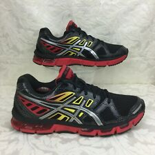 ASICS GEL CIRRUS33 2 Black Lightning Fire running shoe 42.5 womens 10.5 / mens 9