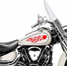 Tanque de combustible de Llama Fuego Motor De Motocicleta Pegatina de Vinilo Calcomanía Moto Bike 2