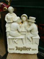 Plaque publicitaire en Mousse Jupiler Bière Bier
