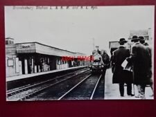 PHOTO  BRONDESBURY RAILWAY STATION  FINCHLEY ROAD & FROGNAL - WILLESDEN.