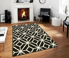 large rugs 8x11 diamond trellis moroccan geometric black area rug 2