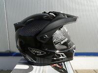 Motorradhelm Uvex Enduro 3 in 1 Carbon black uni   Grösse S  Neu Original Uvex
