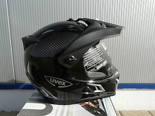 motorcycle helmet Uvex Enduro 3 in 1 Carbon Black Uni Size M New Original Uvex