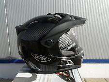 Motorradhelm Uvex Enduro 3 in 1 Carbon black uni   Grösse M