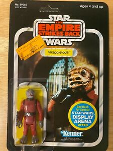 Star Wars ESB Snaggletooth Figure - 1981 Kenner 45-Back - Unpunched MOC
