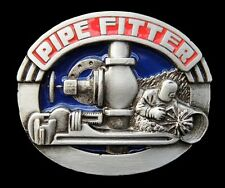 Pipe-Fitter Plumber Piping Worker Equipment Profession Belt Buckle Boucle