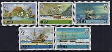 1987 JERSEY ADVENTURERS PART 2 SET OF 5 FINE MINT MNH/MUH