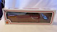 HO Scale Bachmann 50' Double Door Box Car Southern Pacific, Brown #243125, BNOS