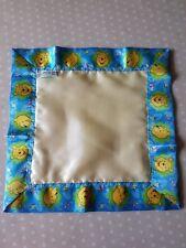 Child's Satin Comforter - Winnie the Pooh - Yellow/Blue/Green