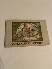 More details for gota canal sweden travel guide 1935 english language