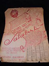 Partition Soyons gais Salabert Music Sheet