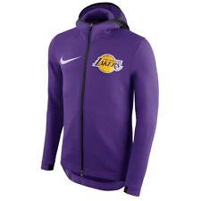 Authentic Nike Los Angeles Lakers Mens NBA Therma Flex Purple Showtime Hoodie
