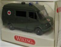 Wiking 1:87 Mercedes Benz 207 D KTW Binz OVP 696 05 Bundeswehr Militär