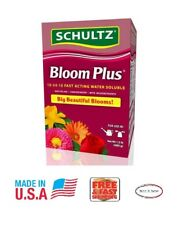 Schultz Bloom Plus Plant Food 10-54-10 Fast Acting Water Soluble 1-1/2 lbs..