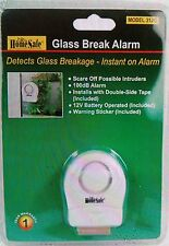 LOT Of (4) Wireless Window Door Guard Glass Break Vibration Home Security Alarm