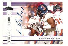 2009 Upper Deck Michael Oher Auto Autograph