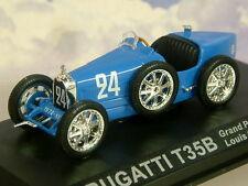 SUPERB DIECAST 1/43 BUGATTI T35B T35 B GRAND PRIX SPORT #24 1928 LOUIS CHIRON