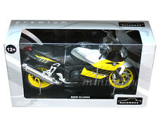 AUTOMAXX 600302YL BMW K1200S BIKE MOTORCYCLE 1/12 BLACK YELLOW