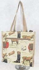 Horse equestrian design Tapestry Tote Shopper Bag  Signare