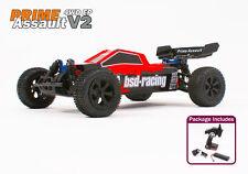 Radio Telecomando RC auto 1/10th Buggy elettrico pronto a correre Primo Assalto UK