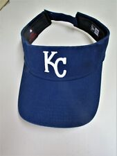 Kansas City Royals Mlb Sports Blue Golf Sun Visor Hat Cap Adult Adjustable