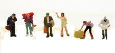 * Preiser scala N 79112 figure omini personaggi viaggiatori 6pz  Nuovi