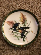 Barn Swallows Roger Tory Peterson The Danbury Mint Plate No. C1966