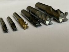 Carbide End Mill 6 Pieces 16mm 12mm 10mm 8mm 6mm Job Lot MA.30
