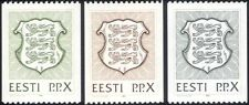 Estonia 1992 State Arms/Lions/Coats-of-Arms/Heraldry/Animals 3v coil set ee1074