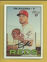 Tim Adleman RC 2016 Topps Heritage High Number Rookie Card # 687 Reds Baseball