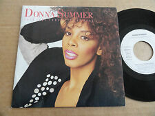 "DISQUE 45T DE DONNA SUMMER   "" THIS TIME I KNOW IT'S FOR REAL """