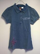 Ed Hardy Damen Poloshirt Blau Gr. S NEU mit Etikett