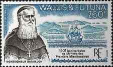 Timbre Religion Bateaux Wallis et Futuna PA158 ** lot 16803