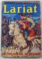 LARIAT STORY PULP MAG MAY 1941 WALT COBURN DEE LINFORD JOHN STARR WILLIAM OWENS