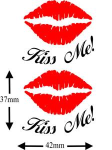 Kiss Me Lips Tattoo ... Kinky, Hen Night, Temporary Tattoo