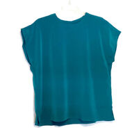 Maggie Sweet Plus Size 2X Green Crinkle Blouse