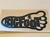 BIG FOOT, Vintage Skateboard Sticker, Original, Genuine Series 209102019