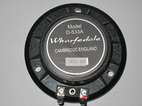 Replacement Speaker Diaphragm For Wharfedale D-533A - 8 Ohms Speaker Uk Stock