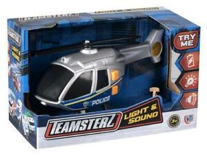 Teamsterz Helicopter With Light And Sound Amazing Toy For Children