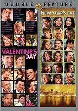 New Year's Eve Valentine's Day DVD DOUBLE-FEATURE 2 Discs NEW SEALED
