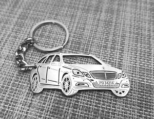 Mercedes Benz E-klas,keychain by your picture, custom gift, personalised keyring