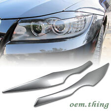Painted BMW E90 Sedan Eyelids Eyebrow Headlight Cover 2006-2011 325i 328i 335d