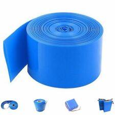 2m PVC 18650 Batería Manga Tubo tubería encogimiento calor Shrink CARCASA de aislamiento
