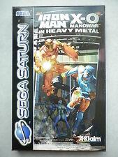 Iron Man / X-O Manowar In Heavy Metal Jeu Vidéo Sega Saturn