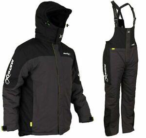 Matrix Waterproof 2 Piece Winter Suit Jacket and Bib and Brace FREE POST